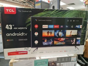 """TCL 43EP658 43"""" 4K Ultra HD Smart TV androidtv"""