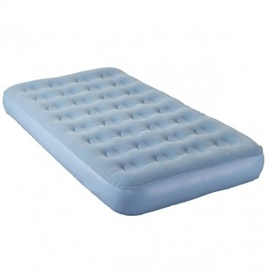 Aerobed Airbed Inflatable Flocked Mattress Single electric pump