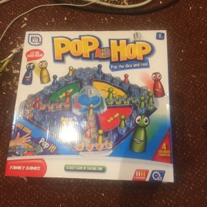 brand new! pop and hop board game only (£5),