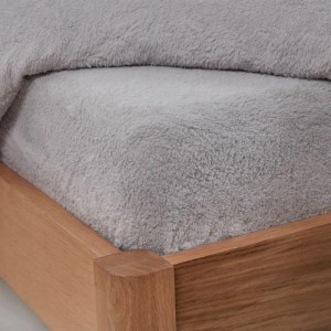 Teddy fleece fitted sheets