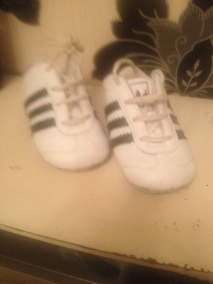 baby's ADIDAS trainers