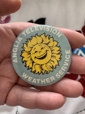 Anglia television weather service badge