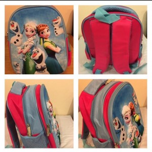 elsa ana frozen bag 3D