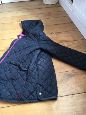 Kids Girls Coat Joules Rainjacket 11-12