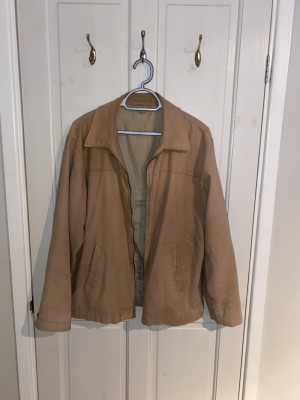 Burton tan suede jacket - M