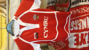 Welsh rugby t-shirt for 7-8 years old child