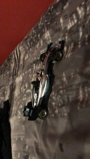 F1 Mercedes Lewis Hamilton model £70 retail