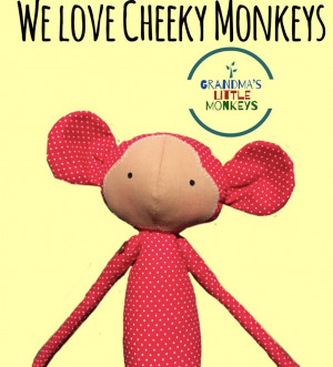 Handcrafted Monkey Toy