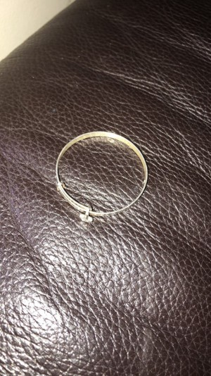 Baby bangle in good condition