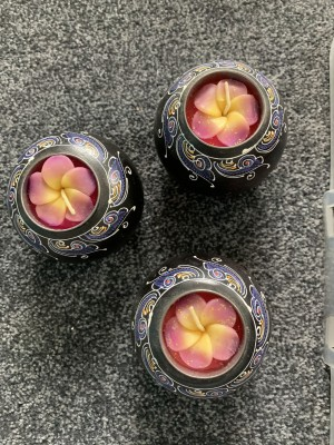 Candles set of 3