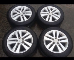 "MK5 ASTRA H 16"" ALLOY WHEELS & TIRES"