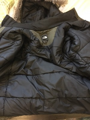 Men's XL north face coat