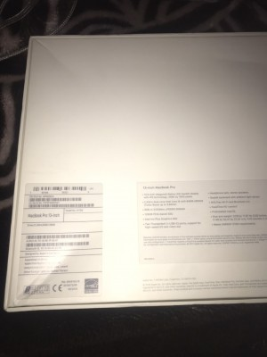 MacBook Pro 13'' 2018 8GB RAM 128GB SSD
