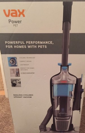 vacuum cleaner NEW VAX POWER