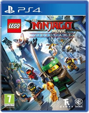 PS4/PLAYSTATION 4 GAME - THE LEGO NINJAGO VIDEOGAME