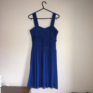 New Look Blue Dress, Age 12-13 Size 6/8