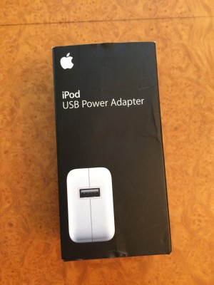 New - iPod USB power adapter
