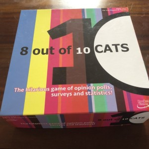 8 Out Of 10 Cats Board Game Hilarious Opinion Polls & Survey Family Fu