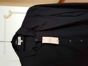 papaya black blouse/ shirt size 12