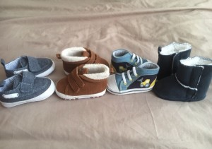 Brand new baby shoes size 0-3 months