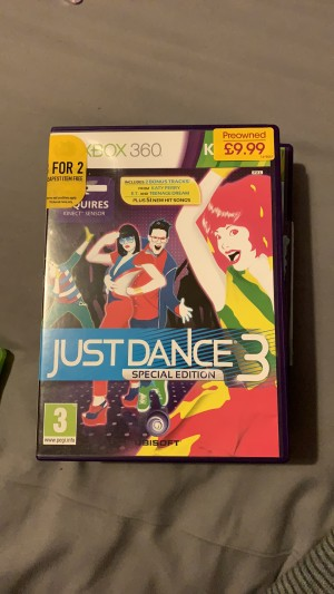 Just dance 3 *SPECIAL EDITION*