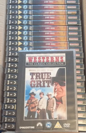 x25 John Wayne true grit Dvd movies brand new and factory sealed