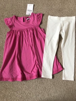 M&S 2-3 years top and leggings