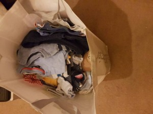 bundle of boys clothes 0-3 and some 3-6 months