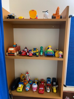 SWAP Cupboard full of several toys