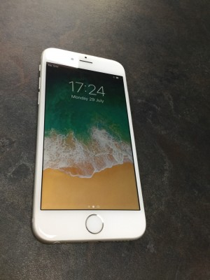 IPhone 6 with 16GB storage