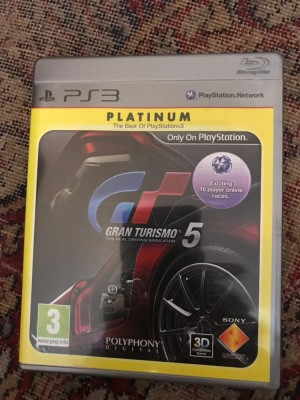 PlayStation 3 gran turismo 5 platinum game