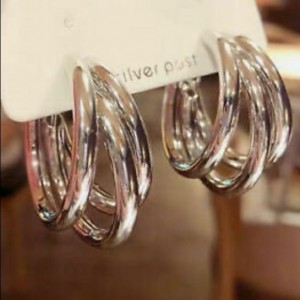 NEW 925 Silver Plated Earrings
