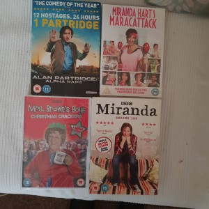 4 Comedy Series DVDs