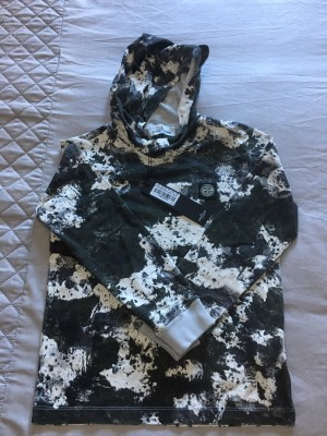 Stone Island junior hooded top, aged 8, BNWT, never been worn