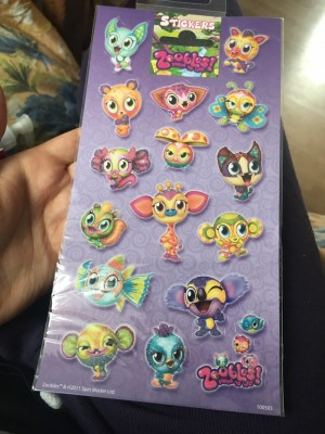 Children's stickers