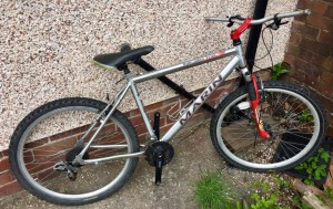 MENS MARIN MOUNTAIN BIKE