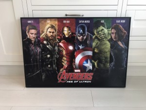 Avengers Age of Ultron wall canvas