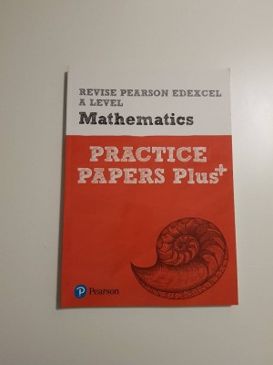 Pearson Edexcel A-level Mathematics Practice Papers+ (Like New)