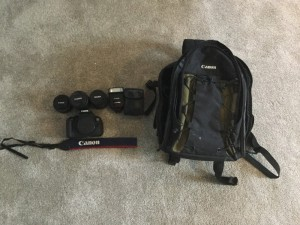 Canon 700d mint condition bundle of lenses