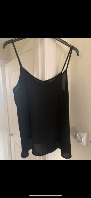 Atmosphere for Primark classic black strappy camisole