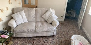 sofa 2 seater and a arm chair