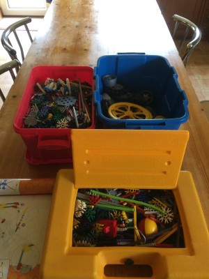 Knex selection