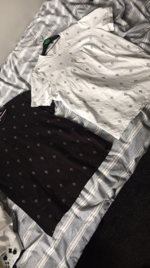 Moncler tops . Medium , good condition hardly worn . 2 for 35