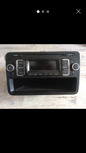 Vw cd radio head unit