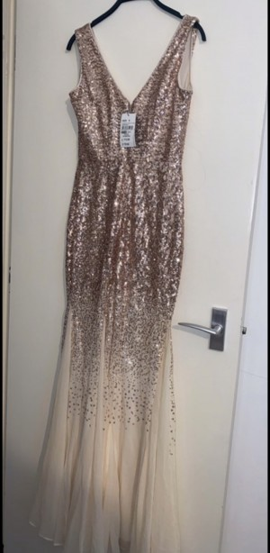 rosegold QUIZ wedding/party/prom dress
