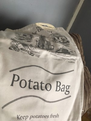 Brand new potato bag