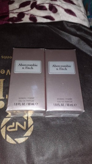 abercrombie and fitch perfume bundle