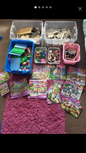 Lego friends joblot
