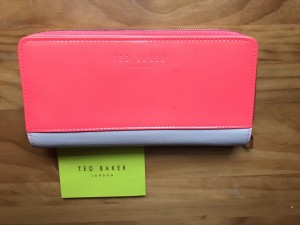 Ted baker purse bright pink