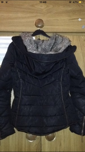 Black Puffer Coat/Jacket
